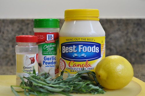 chicken salad mayo ingredients