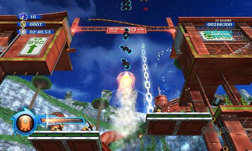 Sonic Colours - Rocket Wisp Powers
