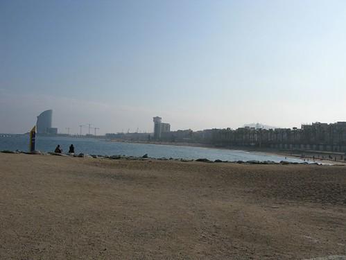 barcelona beach 006