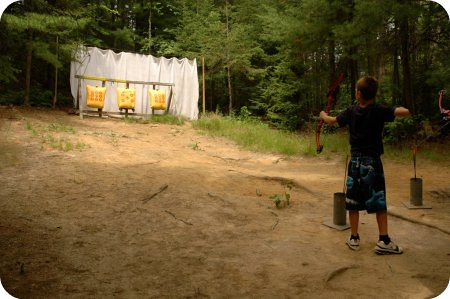 Camp Wabikon: archery