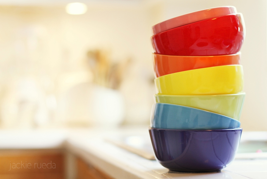 there's a rainbow in my kitchen