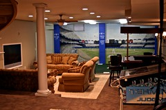 Bar A/V System & batting cage