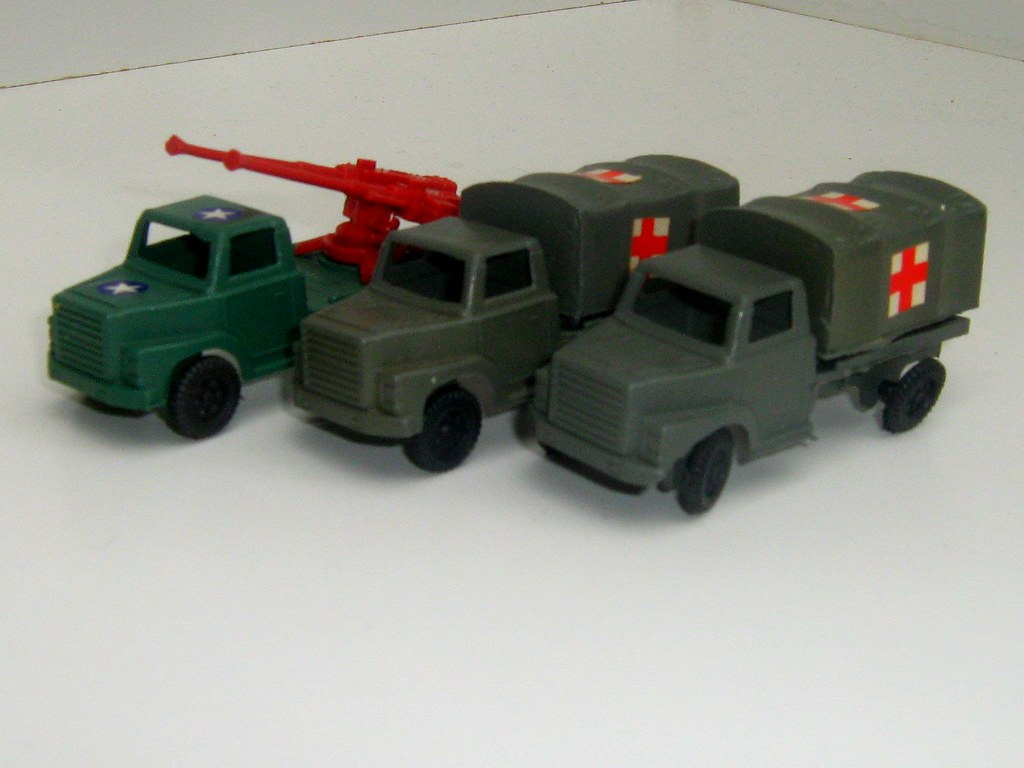 Plastic Army Truck Toys - 4 of 4