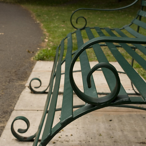 Bench at Hesketh Park