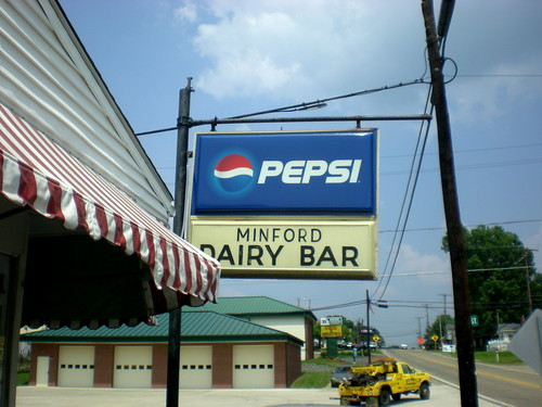 Minford Dairy Bar, Ohio, July 2010