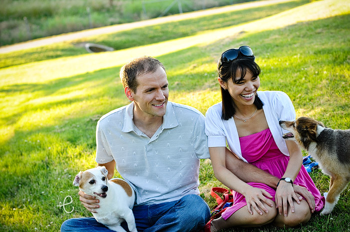 stephen & hoa: family portraits