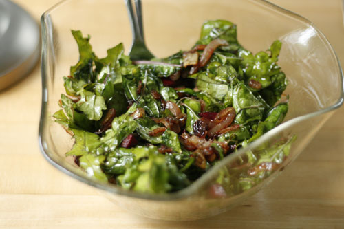 CSA Day: Caramelized Onion and Kale Salad and Other Great Ideas