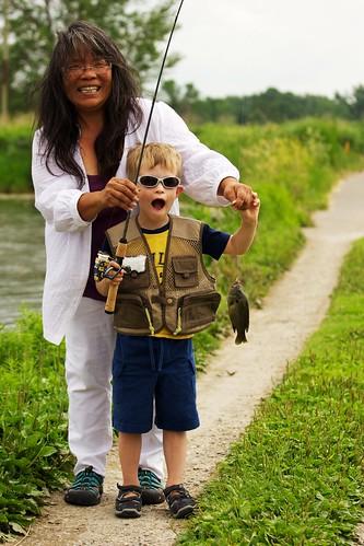 Fishing with Barbara