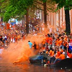 When the Dutch party they party hard – Orange party