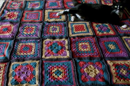 Birthday blanket, complete