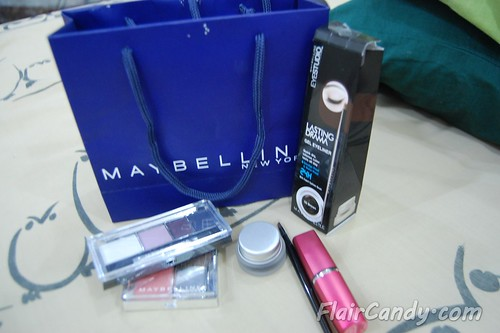 Meg Party and Maybelline Makeup 01