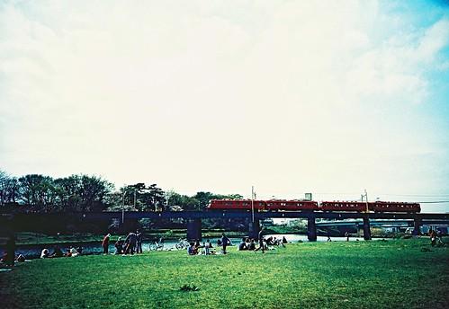 train rock festival