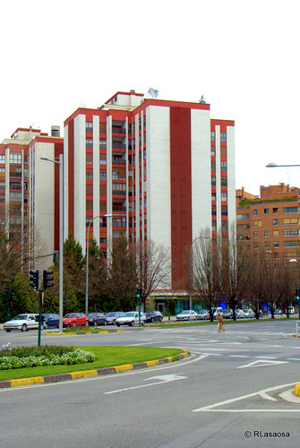 Edificio de viviendas en la Avenida de Pío XII.