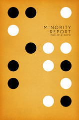 Minority Report - Philip K Dick - book cover design. (Nick Caro - Photography) Tags: book design graphicdesign graphics hole graphic circles minimal jacket cover caro scifi minorityreport sciencefiction punch philipkdick cardpunch nickcaro nickcarophotography wwwnickcarophotographycouk