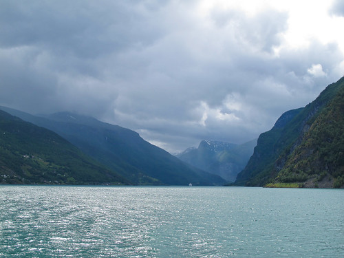 View of the Fjord - Aurlandsfjorden, Norway