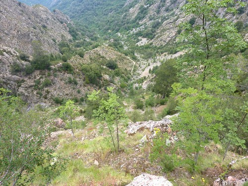 Vallée de Caprunale côté Filosorma