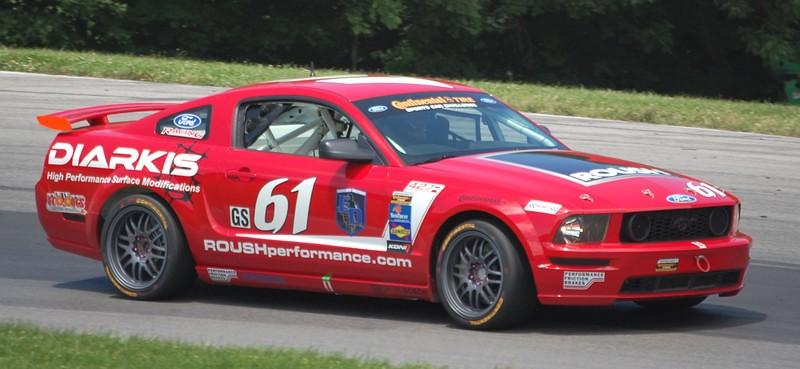 Grand-Am Continental Tire Sports Car Challenge - #61 Billy Johnson / Jack Roush