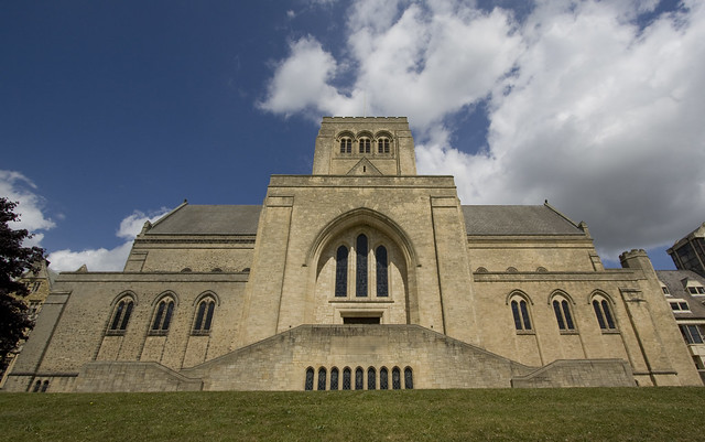 Ampleforth Abbey north elevation