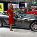 Ferrari 599 GTB Fiorano and hot girl