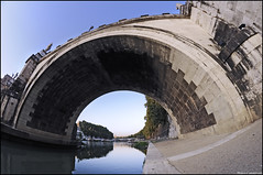 _DSC7228 ( Marco Carotenuto ) Tags: bridge italy rome roma photo google search nikon flickr italia foto album fiume centro ponte fisheye tevere marco fav favourite 8mm favorita antico lazio storico preferita regione samyang carotenuto d300s nikonutentiromani