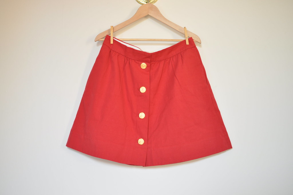 trovata button skirt