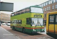 British Bus London & Country 616, G616BPH. (EYBusman) Tags: county city bus london volvo kent coach centre country surrey lancashire east kingston british cowie citybus arriva lancs thameside altrincham b10m g616bph eybusman fleetlink