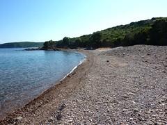 Arrivée à la plage avant Balistra (plus de piste d'accès ?)