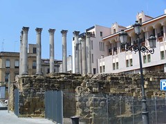 CORDOBA, SPAIN - ruins of an Ancient Roman temple/ ,  -    (Miami Love 1) Tags: espaa spain andalucia spanish cordoba romantemple ancientroman andalucian romaantigua temploromano   anceintrome
