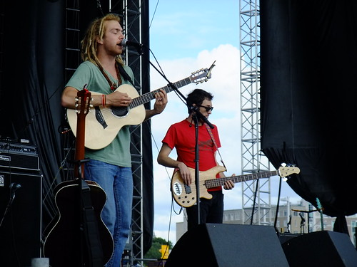 Trevor Hall at Ottawa Bluesfest 2010