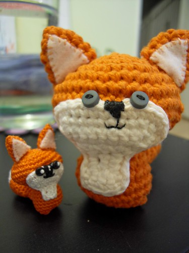 My little amigurumi fox