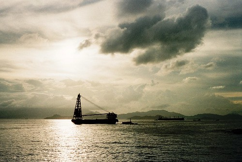 Ocean - Olympus Trip 35 Photos from Hong Kong