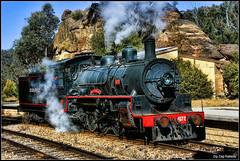 ZigZag Railway (acaffery) Tags: train railway australia steam zigzag steamtrain zigzagrailway lithgow