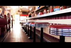 GateWayDiner (RichardTerborg) Tags: old holland dof bokeh thenetherlands style diner american cinematography cinematic depth flevoland almere sigma50mm canon400d gatewaydiner bokehpanorama