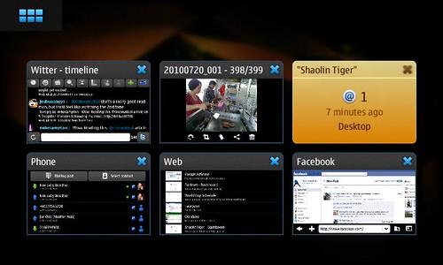 Nokia N900 - Multitasking