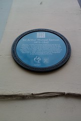 Photo of Arthur Michael Samuel blue plaque