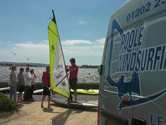 Beginners Windsurfing Lessons - 3rd Week July 2010