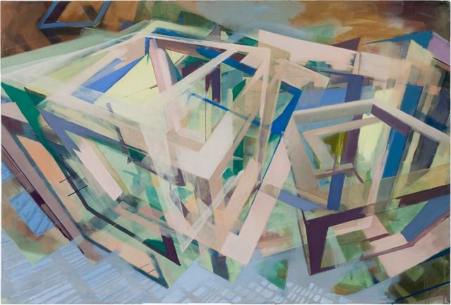 100 x 150 cm, Acryl auf Nessel, 2010