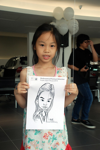 Caricature live sketching for Performance Premium Selection BMW - Day 3 - 16