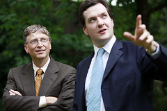 Chancellor meets with Bill Gates