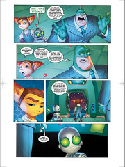 Ratchet & Clank: Going Comics