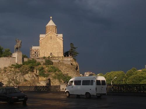 Metechi Kirche, Tbilisi