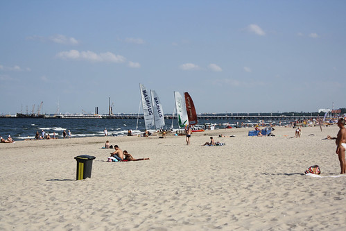 Manscaping and being mahogony-coloured are all the rage on the Baltic coast.