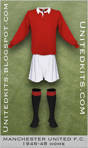 Manchester United 1946-1948 Home kit