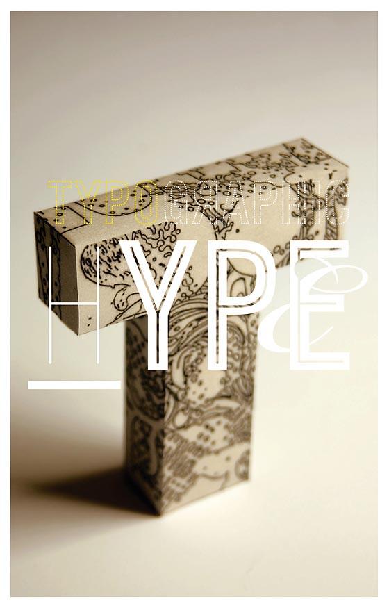 carteles con tipografías