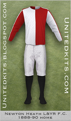 Newton Heath 1888-90 Home kit
