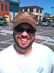 Wilson Hardcastle in Pickwick cap