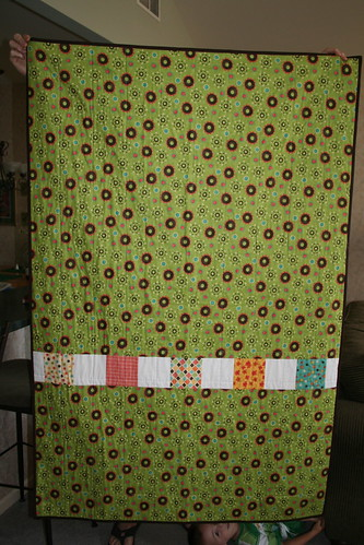 Kelly's Quilt - Pieced Back