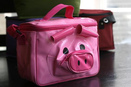 lunchbag piggie