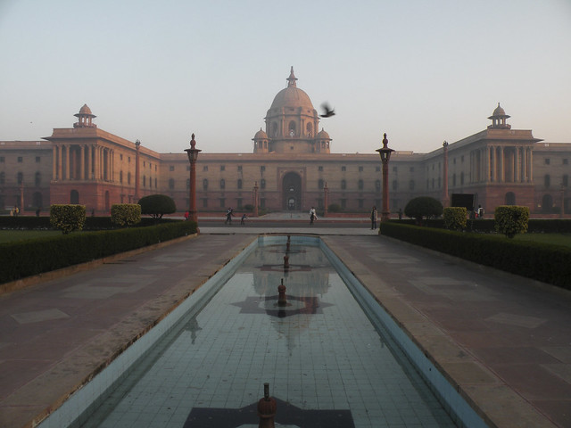 The majesty of Rashtrapati Bhavan
