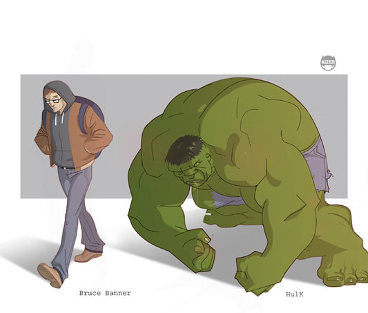 Kizer,  Hulk - Bruce Banner